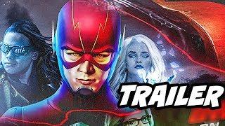 The Flash Season 4 Episode 1 - The Flash Returns Promo Breakdown