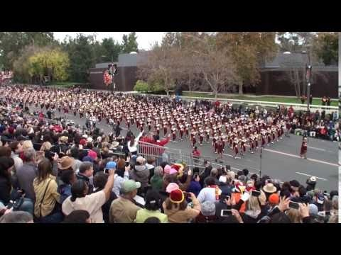 USC Trojan Marching Band - 2017 Pasadena Rose Parade