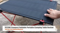 IFLYING Compact Foldable Portable Camping Table Review