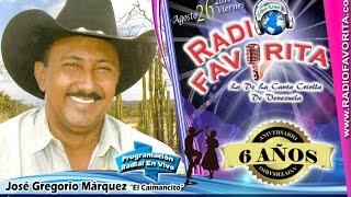 JOSE GREGORIO MARQUEZ - RADIO FAVORITA - 6º ANIVERSARIO