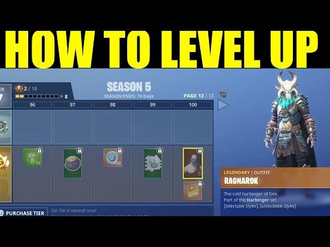 How to Level Up Season 5 Battle Pass FAST! How to get 200000 XP On Fortnite FAST!