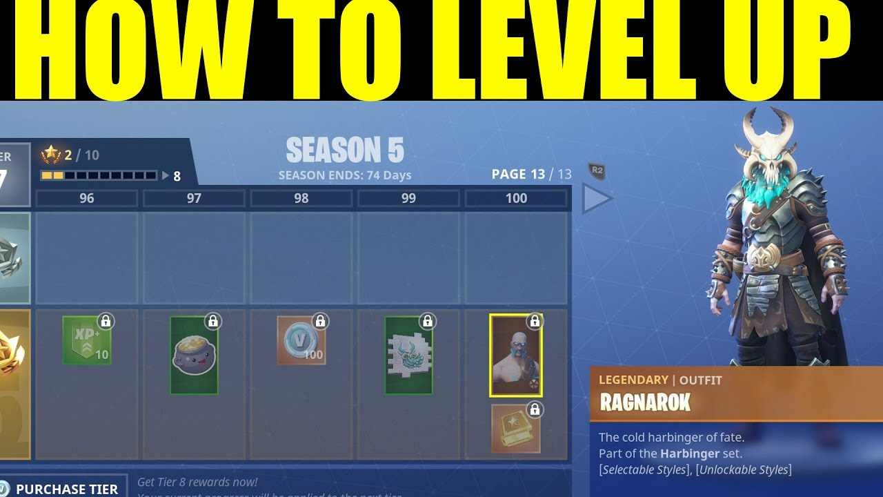 how to level up season 5 battle pass fast how to get 200000 xp on fortnite fast - quickest way to get xp in fortnite season 8