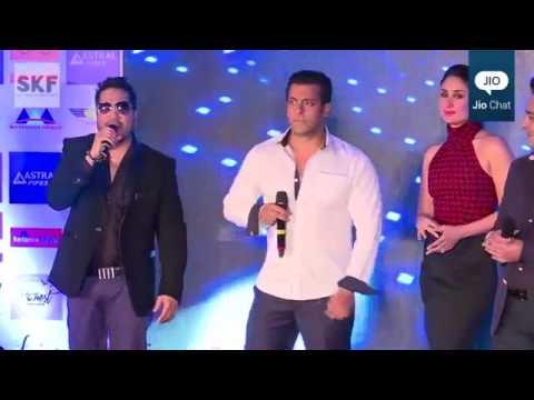 Salman Khan Singing With Mika Singh 'Aaj Ki Party' Bajrangi Bhaijaan
