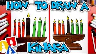 How To Draw A Kinara For Kwanzaa
