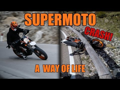 SUPERMOTO A WAY OF LIFE // KTM 690 SMC-R CRASH // BMW G650 X // BIKEPORN // Dolomiten //RWC