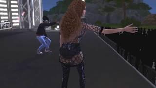Beyonce ft Jay-Z - Deja Vu (Beychella) Live (The Sims 4)
