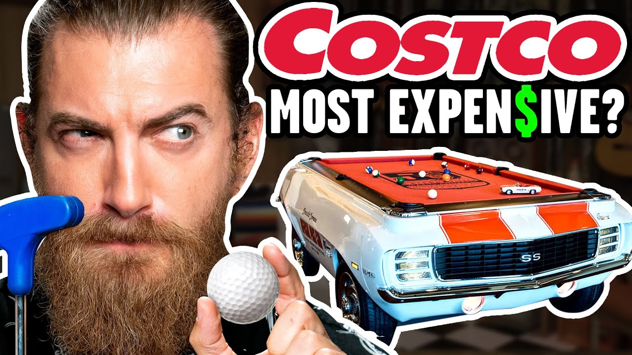What's The Most Expensive Item At Costco? (Mini Golf Game)