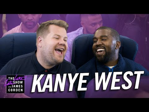 Catalina - Kanye West and James Corden Take Carpool Karaoke to the Sky... in a Plane