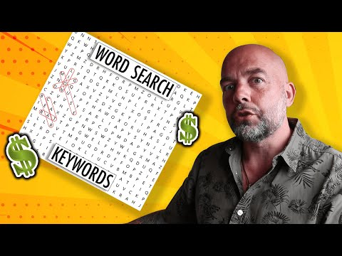 KDP Activity Book Niche - WORD SEARCH Low Content Books To Make Money With Publishing On Amazon