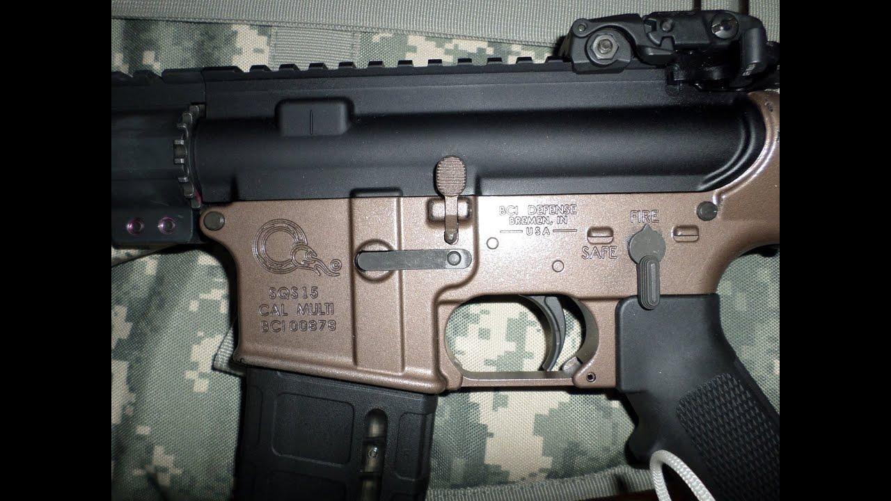 AR 15 Burnt Bronze Spray Paint on Custom AR Build