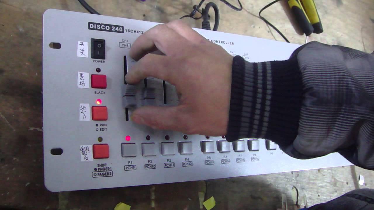 Dmx master 512 lighting controller manual spklever.