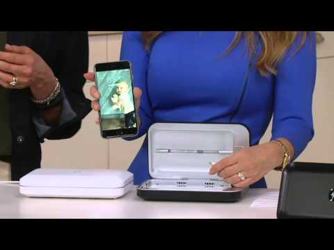 phone-soap-uv-sanitizer-and-phone-charger-by-lori-greiner-on-qvc