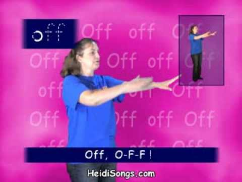 Second Grade Sight Word song - Off
