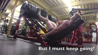 14 year old bodybuilder ryan casey leg presses 670lbs