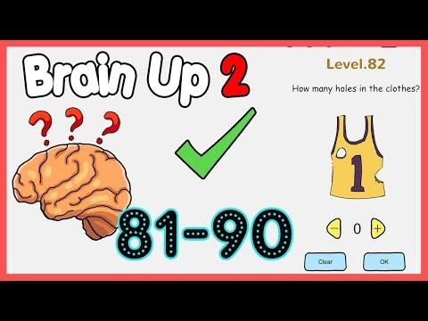 Brain Up 2 Level 81 82 83 84 85 86 87 88 89 90 Walkthrough Solution