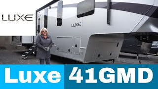 Luxe Gold 41GMD - full time fifth wheel
