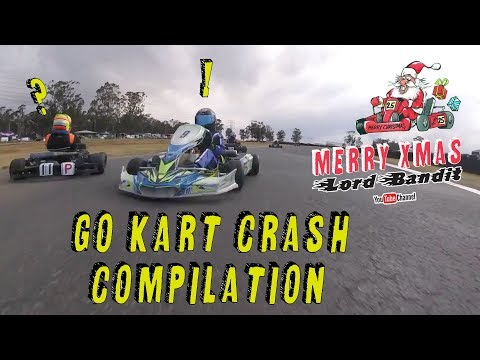 GO-KART CRASH COMPILATION! Merry Xmas!#10