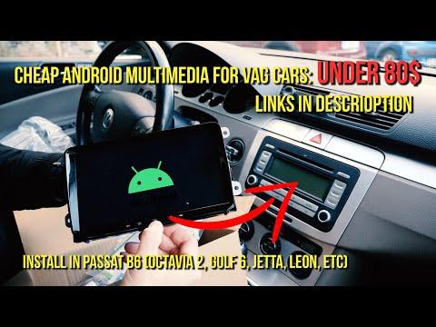 Install Cheap Android Multimedia on Passat B6, B7