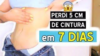 CINTURA FINA EM 7 DIAS! FUNCIONA D+ - DICAS DA DEDESSA