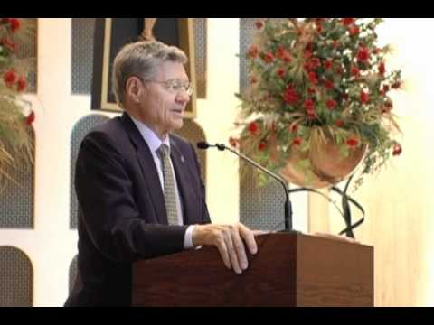 Tom Monaghan at St. Rita High School - YouTube