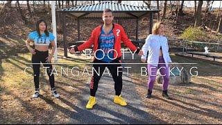 Booty ~ C. Tangana ft. Becky G ~ ZUMBA Reggaeton routine