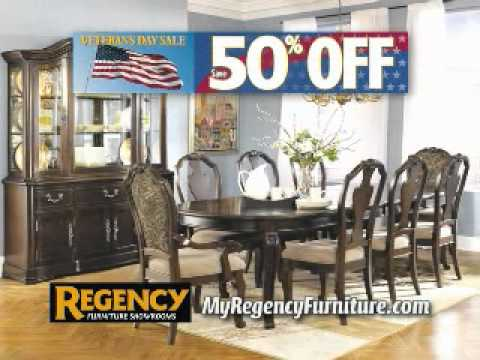 Regency Furniture Veterans Day Sale