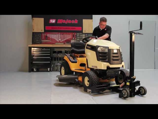17b75e0597f MoJack Tractor - Zero Turn Lifts. Safely Work On Your Mower and Save Time!  - TodaysMower.com