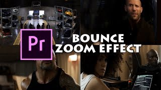 Bounce Zoom Effect Video Editing Premiere Pro  RS Production