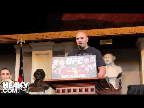 UFC 118 Pre Fight Press Conference Highlights