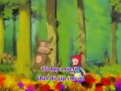 Nhóm D2  kể Chuyện Cổ tích Côo bé quàng khăn đỏ-Giáo dục