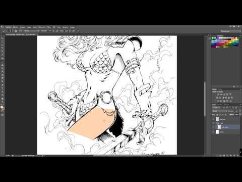 Ilustración digital técnica 1