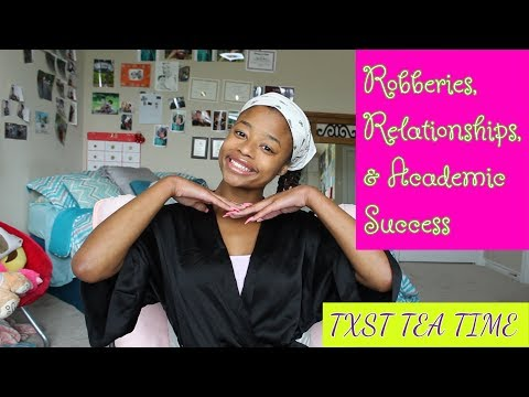 Advice For Texas State Freshman Advice (Robberies, Relationships, Academic Success)