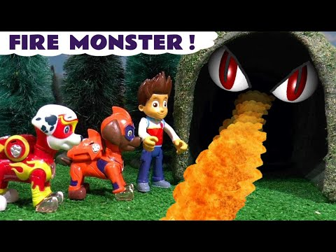 paw-patrol-mighty-pups-fire-monster-prank-mystery-with-family-friendly-funlings