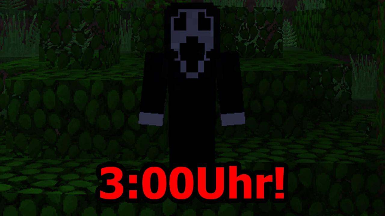 SPIELE NIE UM UHR NACHTS MINECRAFT YouTube - Minecraft spielen um 3 uhr nachts