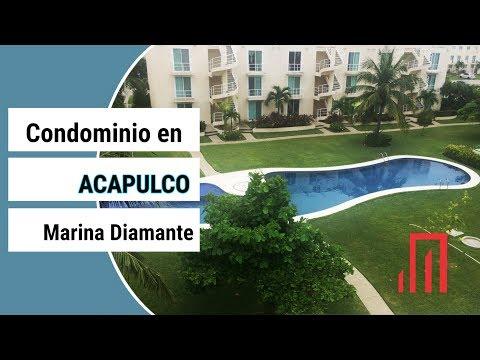 Acapulco, venta de condominio en Marina Diamante