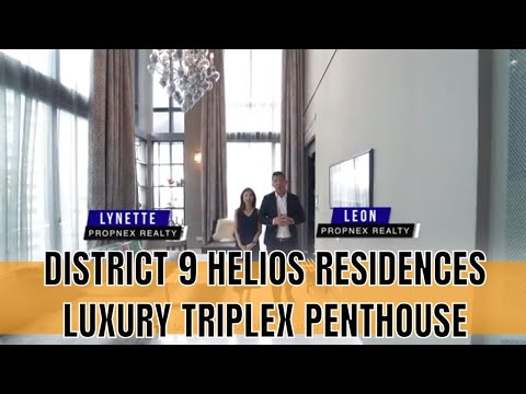 Singapore Condo Property Listing Video  - Helios Residence Penthouse