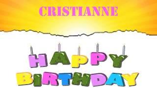 Cristianne   Wishes & Mensajes - Happy Birthday