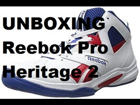 Unboxing: Reebok Pro Heritage 2