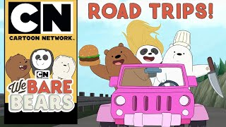 We Bare Bears | Road Trips | Cartoon Network UK