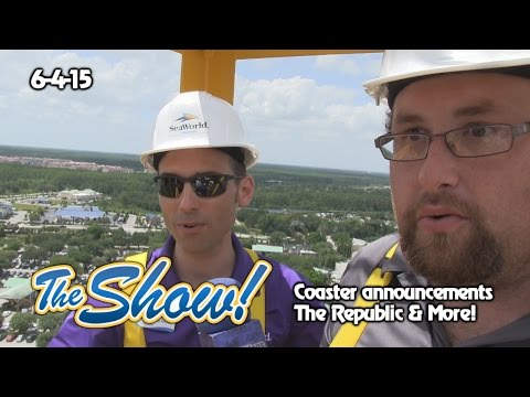Attractions - The Show - Coaster announcements; The Republic; latest news - June 4, 2015