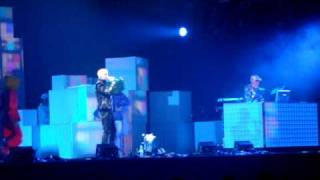 10 Left To My All Devices PET SHOP BOYS 11/06/09 @ Moscow, Russia  Лужники PSB Yes Tour Live