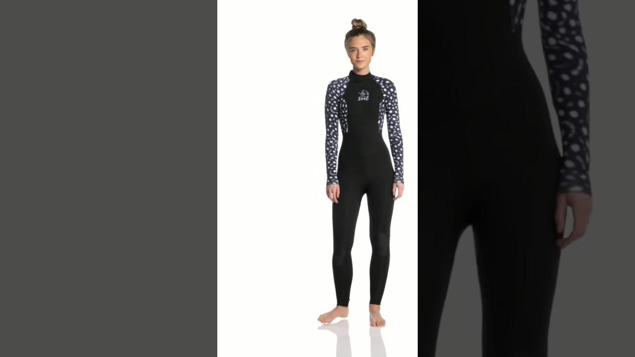 9ba6266aaf Xcel Women's Ocean Ramsey Axis 4/3MM Fullsuit | SwimOutlet.com