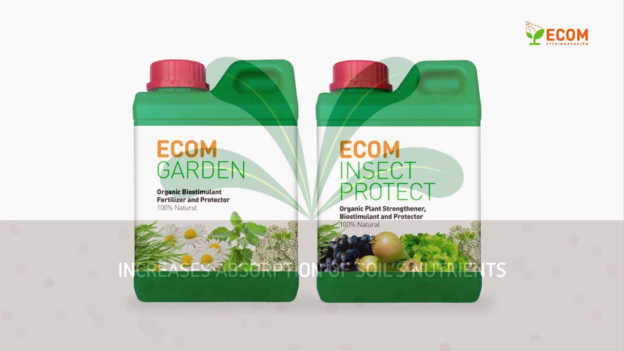 ECOM Garden Organic Plant Biostimulant