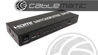 Selector y multiplicador HDMI …