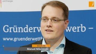 """Interview: MiCROW, Hauptpreis """"Gründerwettbewerb - IKT Innovativ"""""""
