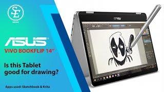"ASUS Vivo Bookflip 14"" - Good for drawing?"