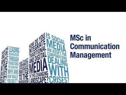 SMU Master Of Science In Communication Management