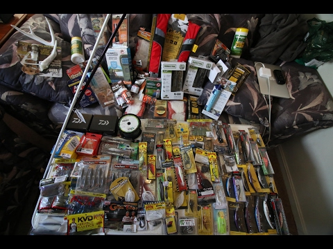 SO MUCH FISHING TACKLE - MASSIVE CABELA'S SHOPPING SPREE