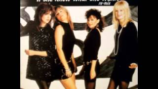 1986. IF SHE KNEW WHAT SHE WANTS. THE BANGLES. EXTENDED REMIX.