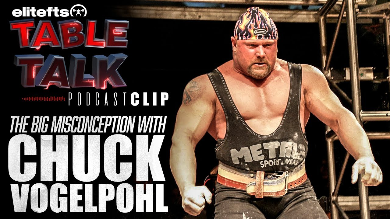 free shipping 3920f 63780 The Big Misconception About Chuck Vogelpohl | elitefts.com